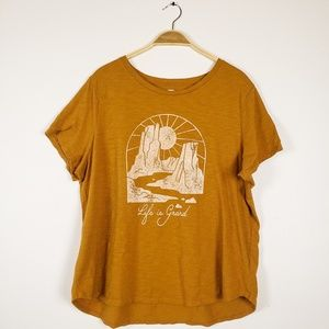 Old Navy • Life is Grand Canyon Graphic Tee Shirt